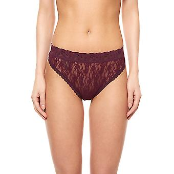 pieces string ladies Netti lace purple thong lingerie