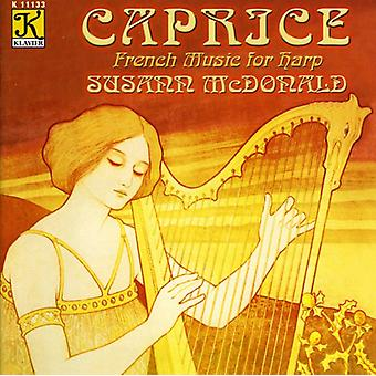 Susann McDonald - Caprice: Fransk musik for harpe [CD] USA import