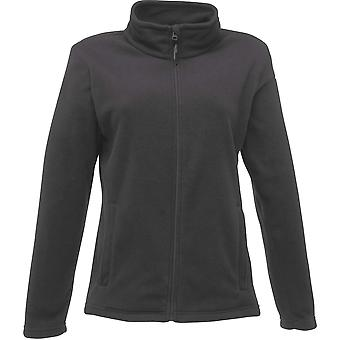 Regatta Damen Mikro Full Zip Fleece Jacke TRF565 grau