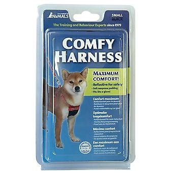 COMPANY OF ANIMALS COMFY Dog  HARNESS BLACK Extra Small