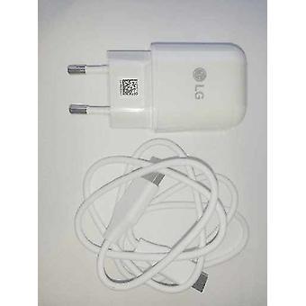 LG vit resor snabb laddning strömförsörjning på 1800mah MCS-H05ED med USB-C-laddningskabel