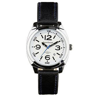 Bruno Banani watch wristwatch of Ketos leather analog BR30016