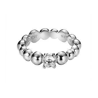 ESPRIT women's ring silver zirconia solo pellet ESRG92321A1