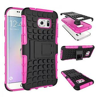 Hybrid case 2 piece SWL outdoor Pink for Samsung Galaxy S7 edge G935 G935F