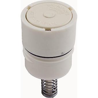 A & en 521711 højt Flow Retro-Fit Pop op rense hoved - creme