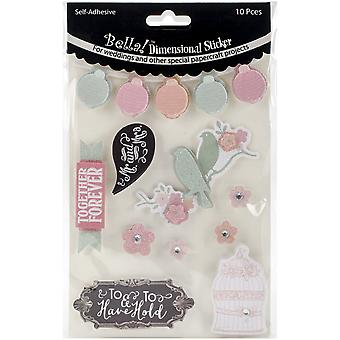 Bella! Rustic Charm 3D Stickers
