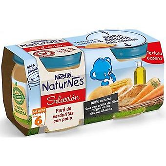 Nestlé Vegetables And Chicken Pure 2 x 200 gr 400 gr (Childhood , Healthy diet , Pots)