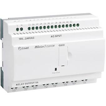 Regulador del PLC Crouzet Millenium 3 Smart CB20 R 88974031 24 Vdc
