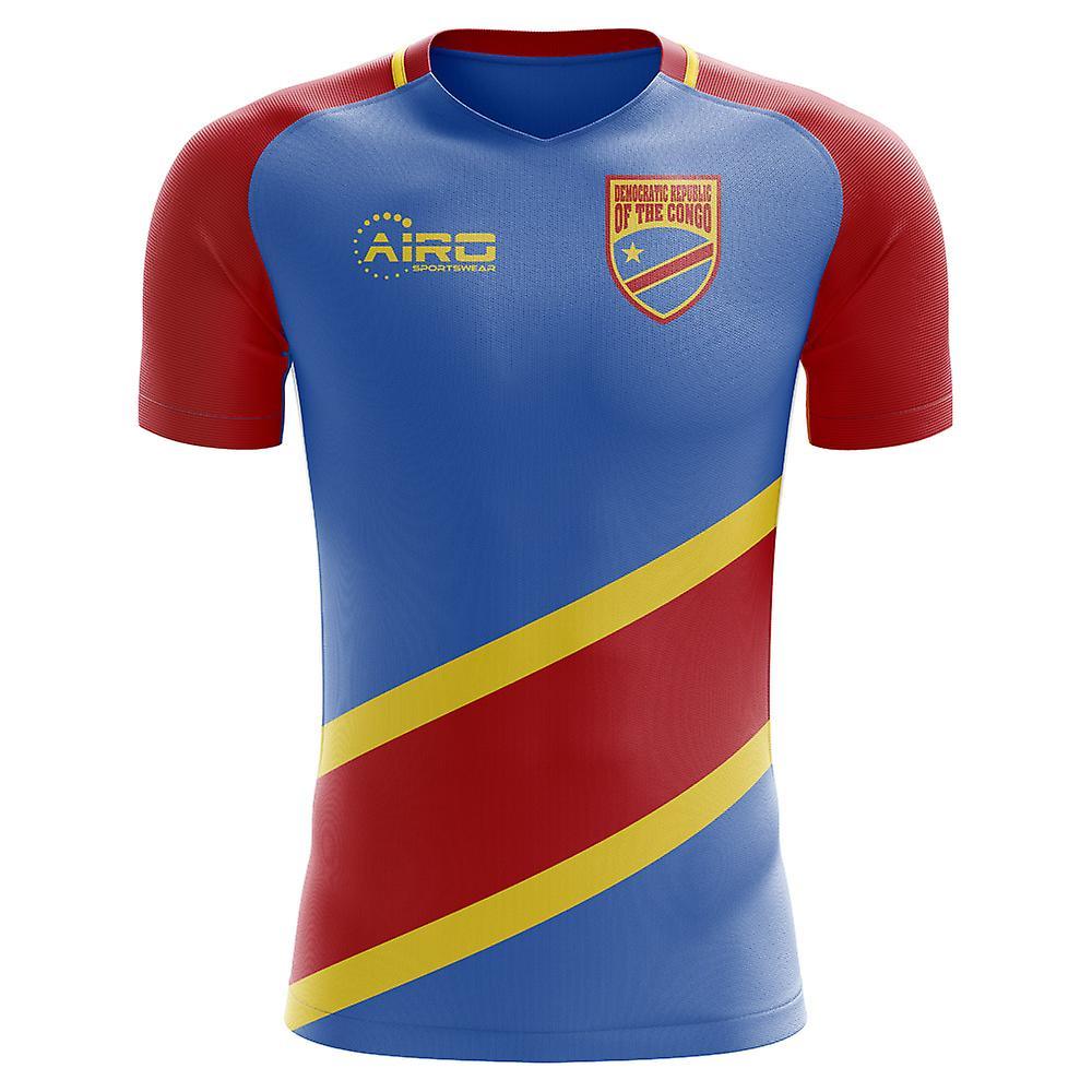 2018-2019 DR Kongo Wohnkonzept Fußballtrikot