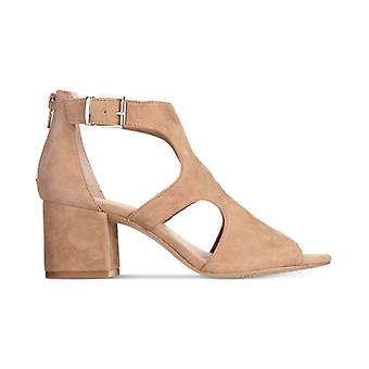 INC International Concepts Womens Helenn Leather Open Toe Casual Ankle Strap ...