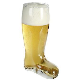 Botas de cerveza cristal capacidad XXL: 800 ml.