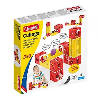 Quercetti Cuboga 28 Piece Marble Run Ages 3-6 Years