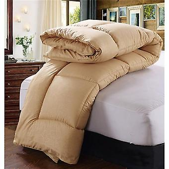 600 Thread Count-100% Cotton Comforter/quilt-brown
