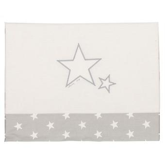 Happy Way Set of sheets for miniculet with gray stars (Textile , Child's , Linens)