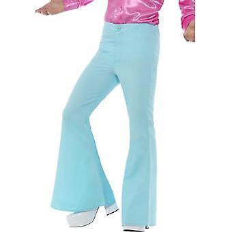 Utbuet bukser, Mens, blå