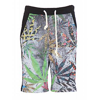 Waooh - Short Printed Flowers Palmito