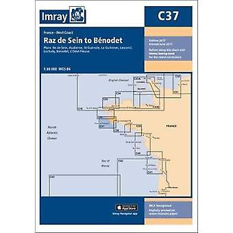 Imray Chart C37 - Raz de Sein to Benodet by Imray - 9781846238864 Book