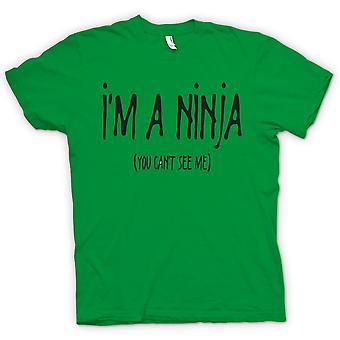Koszulka męska - jestem Ninja (You Can't See Me) - Cytat