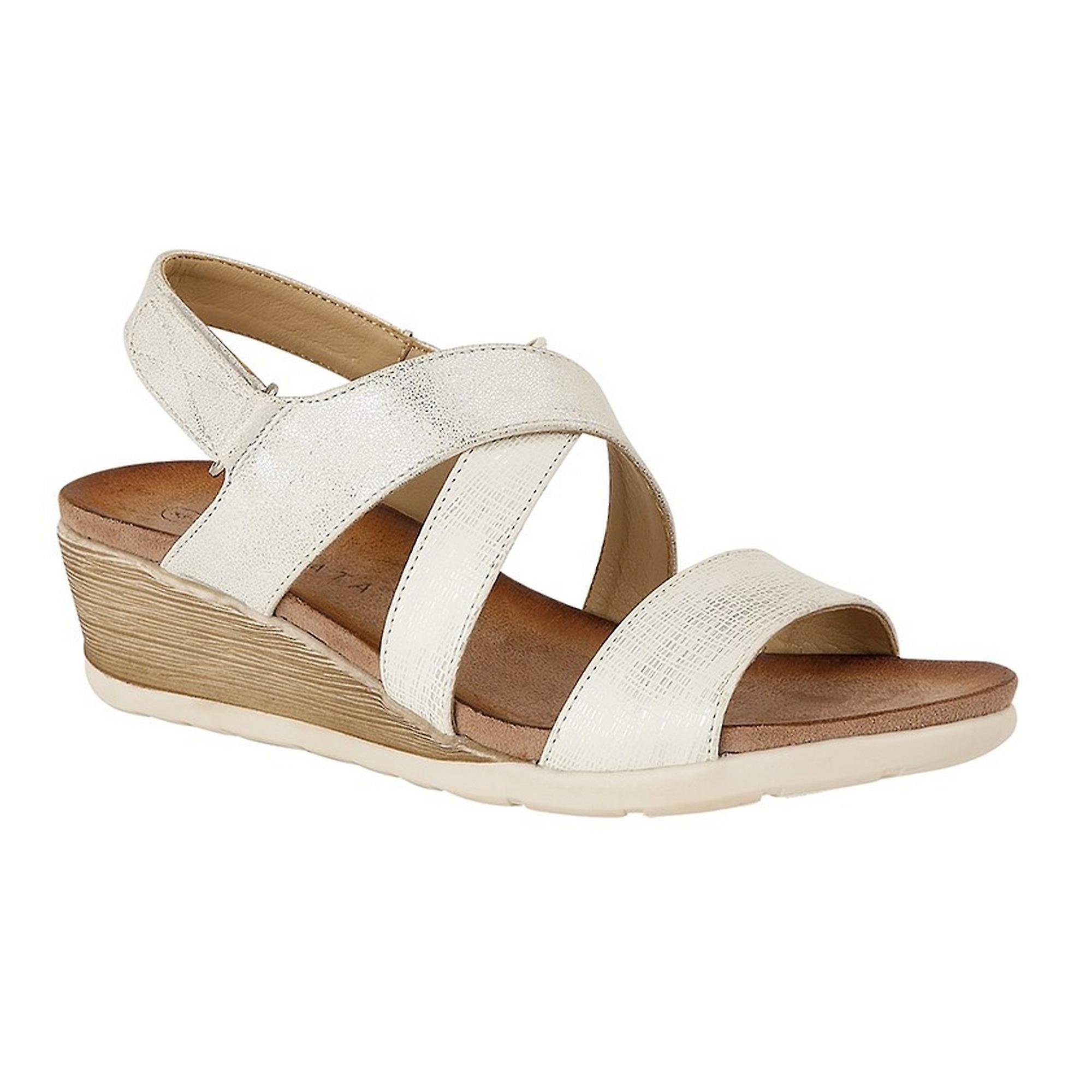Cipriata Womens/Ladies Bina Crossover Wedge Sandal