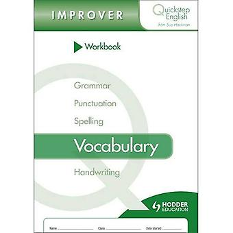 Quickstep englische Arbeitsmappe Wortschatz-Verbesserer Bühne (Packung mit 10)