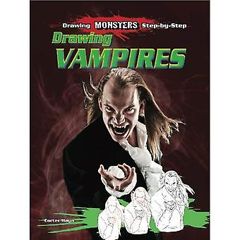 Drawing Vampires (Drawing Monsters Step-By-Step)