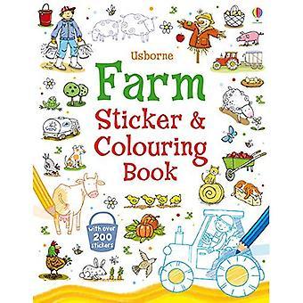 Bauernhof-Aufkleber und Malbuch (Aufkleber und Malbücher)