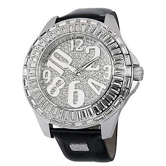 Carlo Monti CMY01-112-wristwatch, leather, color: black