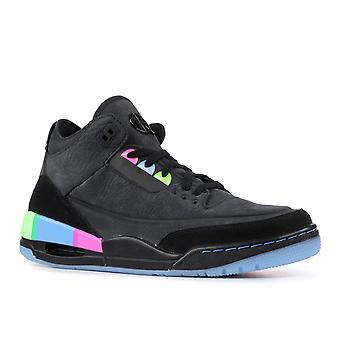 Air Jordan 3 Retro Se Q54 'Quai 54' - At9195-001 - Shoes