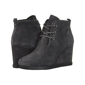 Michael Kors Womens Tamara lace up bootie Leather Round Toe Ankle Fashion Boots