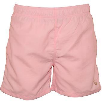 Gant Classic Shield Logo Swim Shorts, California Pink