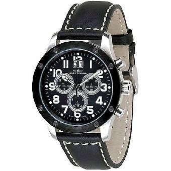 Zeno-Watch Herrenuhr Screws 5040 Chronograph 9540Q-SBK-b1