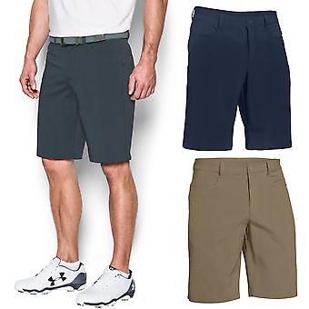 Under Armour Mens UA Tech Leaderboard Golf Short