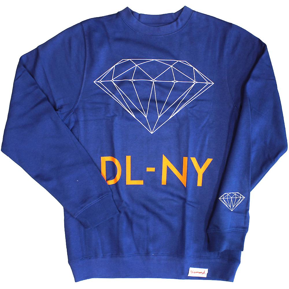 Diamond Supply Co DL-NY tröja Royal