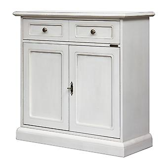 Smooth lacquered cupboard in classical style