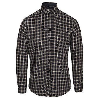 Hackett Multi Trim Soft Check Long Sleeve Shirt