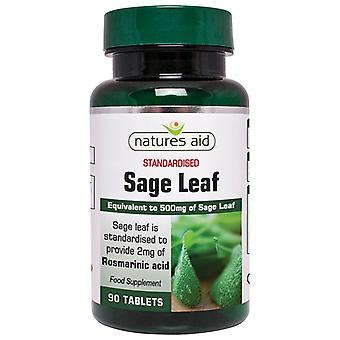 Naturens hjelp Sage Leaf 50mg tabletter 90