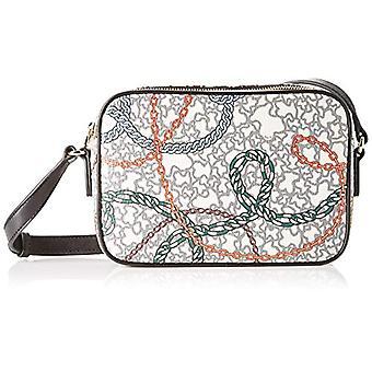 Love Moschino Bag Calf Natural Grain Backpack Women (Black) 28x10x26 cm (W x H x L)