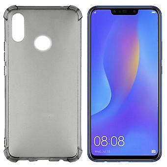 Bakstycket stötsäker TPU 1,5 mm Huawei P smartplus/Nova 3i transparent svart