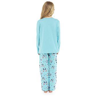 Jenter 100% bomull super LLama ut Pyjama sett