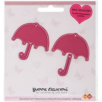 Find It Trading Yvonne Creations Love Die-Umbrella CDD10009