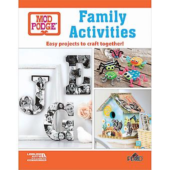 Leisure Arts-Mod Podge Family Activities LA-73870