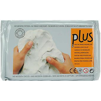 Plus Natural Self Hardening Clay 2.2 Pounds White 62 00
