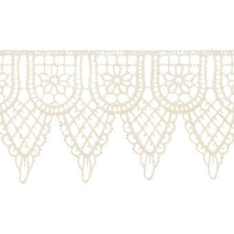 Double Scalloped Venice Lace 2 1 4