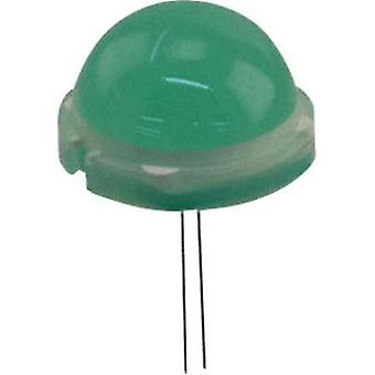 LED wired Green Circular 20 mm 25 mcd 120 ° 25 mA 6.6 V LUMEX