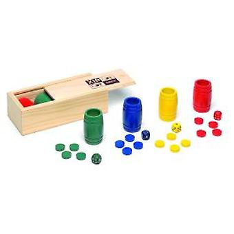 Cayro Acces.parchis-Oca 4 wood play. (Children, toys, board games, strategy)