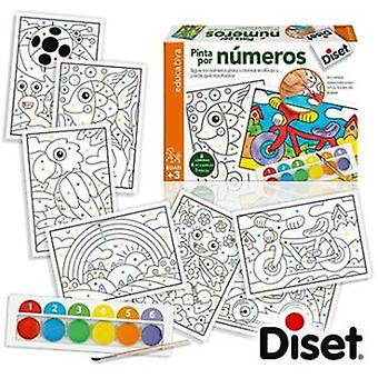 Diset Colour by numbers