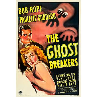 The Ghost Breakers Bob Hope Paulette Goddard 1940 Movie Poster Masterprint