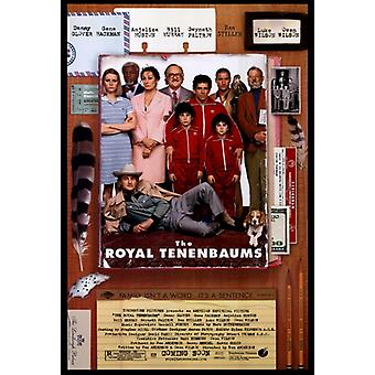 The Royal Tenenbaums Movie Poster Print (27 x 40)