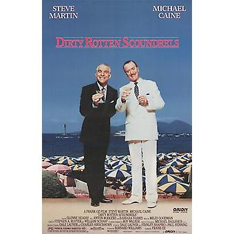 Dirty Rotten Scoundrels Movie Poster (11 x 17)