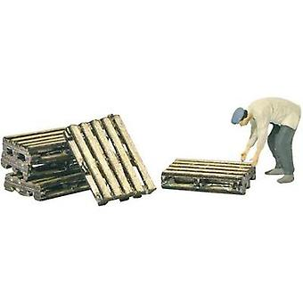 MBZ 80127 H0 Set of 5 Euro pallets